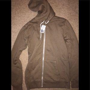 Forever 21 tan hoodie